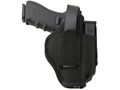 "Uncle Mike's Sidekick Ambidextrous Hip Holster Taurus Judge/ S&W Governor 3"" Barrel Nylon Black"