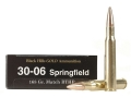 Black Hills Gold Ammunition 30-06 Springfield 168 Grain Hornady Match Hollow Point Boat Tail Box of 20