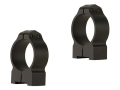 Warne 30mm Permanent-Attachable Ring Mounts Sako 75 Matte Medium