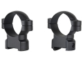Leupold 30mm Ring Mounts CZ 550 Matte High