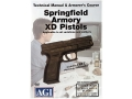 Product detail of American Gunsmithing Institute (AGI) Technical Manual &amp; Armorer&#39;s Course Video &quot;Springfield Armory XD Pistols&quot; DVD