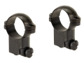 Leupold 1&quot; Ring Mounts Ruger #1, 77/22 Gloss High