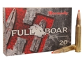 Hornady Full Boar Ammunition 30-06 Springfield 165 Grain Gilding Metal Expanding Boat Tail Box of 20