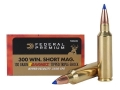 Federal Premium Hyper Velocity Ammunition 300 Winchester Short Magnum (WSM) 130 Grain Barnes Tipped Triple-Shock Lead-Free Box of 20
