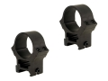 B-Square 30mm Sport Utility Weaver-Style See-Through Rings High Matte