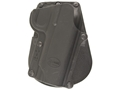 Fobus Roto Paddle Holster Right Hand 1911 Polymer Black
