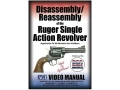 American Gunsmithing Institute (AGI) Disassembly and Reassembly Course Video &quot;Ruger Single Action Revolvers&quot; DVD