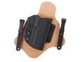 Comp-Tac Minotaur Spartan Inside The Waistband Holster Right Hand HK P30 Kydex and Leather