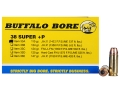 Product detail of Buffalo Bore Ammunition 38 Super +P 115 Grain Jacketed Hollow Point Box of 20