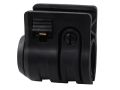 "Mission First Tactical Torch Quick Detach Flashlight Holder Fits 1"", 3/4"", or 5/8"" Flashlights Polymer Black"