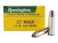 Product detail of Remington Express Ammunition 357 Magnum 110 Grain Semi-Jacketed Hollow Point Box of 50