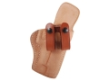 El Paso Saddlery Summer Cruiser Inside the Waistband Holster Right Hand Sig P220, P226 Leather Natural and Russet Brown
