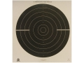 NRA Official International Pistol Target B-39 50&#39; Rapid Fire Paper Package of 100