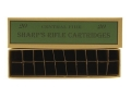 Product detail of Cheyenne Pioneer Cartridge Box Sharps Rifle Chipboard Package of 5