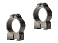Warne 30mm Permanent-Attachable Ring Mounts CZ 527 (16mm Dovetail) Gloss Medium