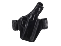 Bianchi Allusion Series 130 Classified Outside the Waistband Holster Right Hand Smith &amp; Wesson M&amp;P 9mm, 40 S&amp;W Leather Black
