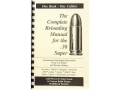 "Loadbooks USA ""38 Super"" Reloading Manual"