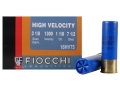 Fiocchi Hi Velocity Ammunition 16 Gauge 2-3/4&quot; 1-1/8 oz #7-1/2 Chilled Lead Shot Box of 25