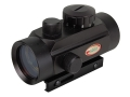 Product detail of ADCO E-Dot Compact Red Dot Sight 30mm Tube 1x 3 MOA Dot with Integral Rimfire/Airgun Mount Matte