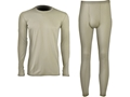Military Surplus Gen III Level 1 Silk-Weight Base Layer Set Grade 1 Sand