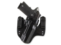 Galco V-HAWK Inside the Waistband Holster Right Hand 1911 Officer, Defender Leather Black