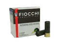 "Fiocchi Ammunition 12 Gauge 2-3/4"" 1-1/8 oz #3 Steel Shot"