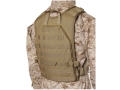 Blackhawk S.T.R.I.K.E. Lightweight Commando Recon Back Panel Nylon Ripstop Coyote