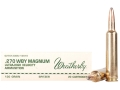 Product detail of Weatherby Ammunition 270 Weatherby Magnum 130 Grain Norma Spitzer Box of 20