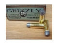 Grizzly Ammunition 475 Linebaugh 425 Grain Cast Performance Lead Wide Flat Nose Gas Check Box of 20