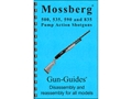 Gun Guides Takedown Guide &quot;Mossberg 500, 535, 590 and 835 Pump Action Shotguns&quot; Book