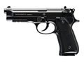 Beretta 92A1 Full Auto Blowback Air Pistol 177 Caliber BB Black