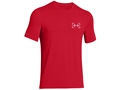 Under Armour Men's UA Fish Hook Back Seal T-Shirt Short Sleeve Cottton and Polyester Blend