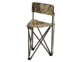Hunter&#39;s Specialties Tripod Chair Steel Frame Polyester Seat Realtree APG Camo