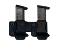 Comp-Tac Twin Magazine Pouch Right Hand Glock 43 Kydex Black