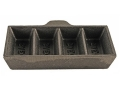 Saeco 4-Cavity Ingot Mold without Handle