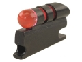 "NECG Universal Front Ramp Interchangeable Front Sight .217"" Height .158"" Fiber Optic Red"