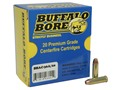 Product detail of Buffalo Bore Ammunition 32 H&R Magnum +P 100 Grain Jacketed Hollow Point Box of 20