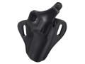 "El Paso Saddlery Strongside Select Thumb Break Outside the Waistband Holster Right Hand Smith & Wesson K Frame 4"" Leather Black"