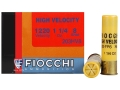 Fiocchi Shooting Dynamics High Velocity Ammunition 20 Gauge 3&quot; 1-1/4 oz #8 Shot Box of 25