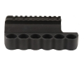 Mesa Tactical Sureshell Shotshell Ammunition Carrier with Picatinny Optic Rail 12 Gauge Benelli M2 Tactical 6-Round Aluminum Matte