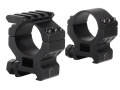 Product detail of Millett 30mm See-Thru Picatinny-Style Tactical Rings with Accessory Rail Matte Medium