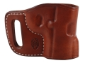 El Paso Saddlery Combat Express Belt Slide Holster Right Hand 1911 Leather Russet Brown