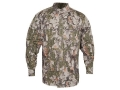 Natural Gear Men's Bush Shirt Long Sleeve Cotton