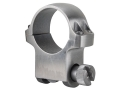 Ruger 1&quot; Ring Mount 5K Silver High