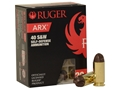 Ruger Self Defense Ammunition 40 S&W 107 Grain PolyCase ARX