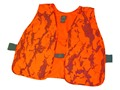 Natural Gear Hunter&#39;s Safety Vest Polyester Natural Gear Blaze Orange Camo One Size