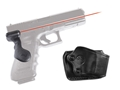 Crimson Trace Lasergrips Glock Gen-3 17, 17L, 22, 24, 31, 34, 35, 37, 20SF, 21SF Rear Activation Polymer Black with Gould & Goodrich Holster