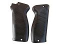 Vintage Gun Grips French 1950 9mm Luger Polymer Black