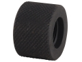 "Yankee Hill Machine Barrel Thread Protector Cap 1/2""-28 Bull Barrel  Plated Steel Black"