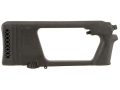 Choate Varmint Buttstock H&amp;R, N.E.F. Single Shot Rifle, Muzzleloaders Synthetic Black